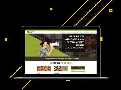 E-Commerce: Pine Timber