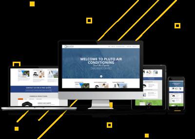Website Development: Pluto Air Conditioning